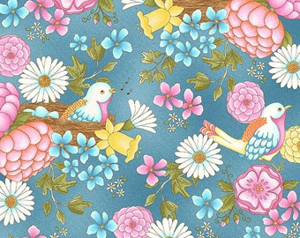 Henry Glass Fabrics, designed by Jacquelynne, Steves, Peaceful Pastimes 9766 11