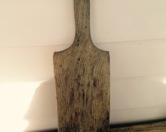 Antique Oak Butter Paddle Kitchen Collectible