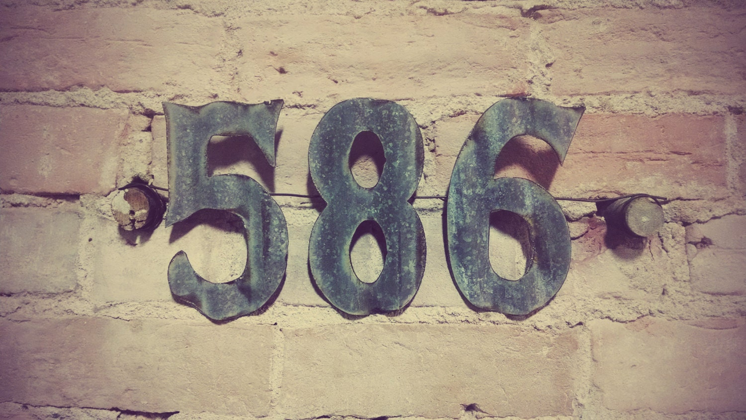 Metal house numbers tsy - ^