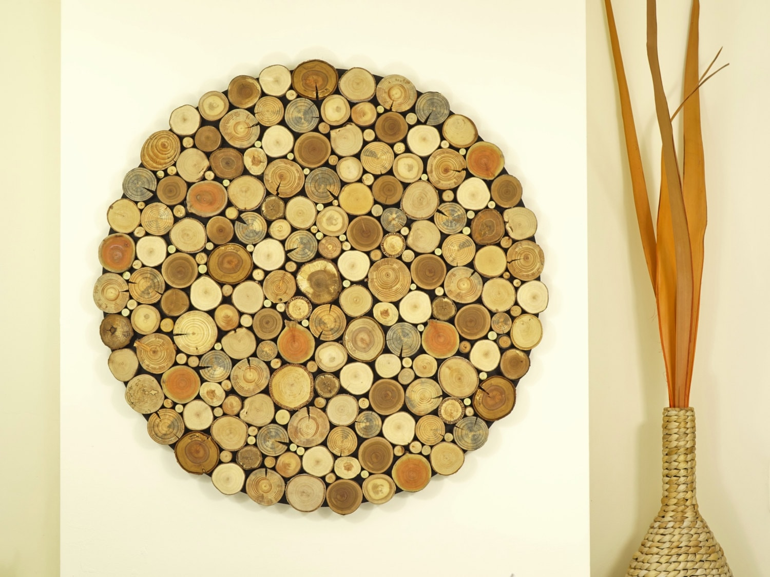 Round Wood Wall Art - Elitflat