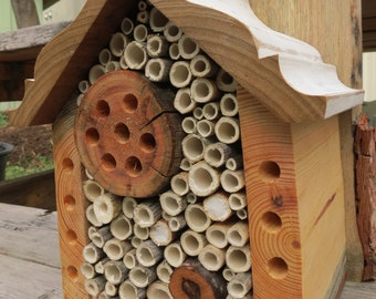 Mason Bee House - Fancy Cabin