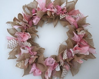 breast cancer awareness month wreath pink ribbon wreath breast cancer gift idea breast cancer survivor gift