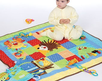 McCall's Pattern M7104 Play Quilt and Mats
