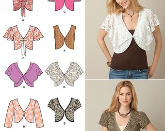 OUT OF PRINT Simplicity  Pattern 2183 Misses' Easy to Sew Vest or Jacket