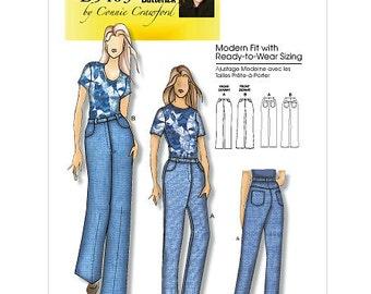 Butterick 5403 Misses'/Women's Jeans