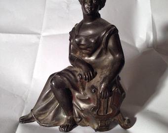 Victorian statue vintage