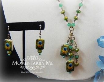 Aventurine, Turquoise Bead Necklace