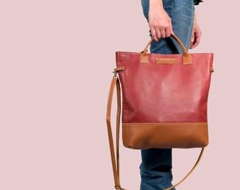 Leather tote bag, Leather bag, leather handbag, leather shopper, tote bag, handmade leather bag, leather handbag, oversized bag, women bags