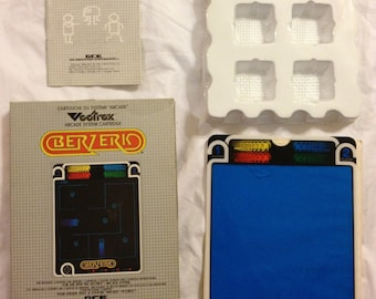 Vectrex Video Game *Berzerk* Complete in box!