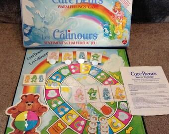 Vintage Care Bears Board Game Milton Bradley Game 1984