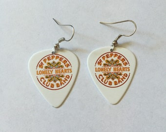 The Beatles Sgt Peppers Lonely Hearts Club Band Earrings