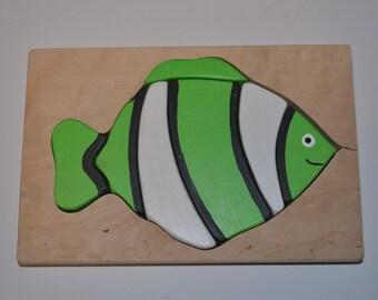 Green fish, Puzzle fish