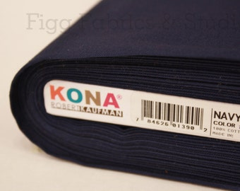 KONA Cotton in Navy (Color 1243)