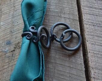 Napkin Rings (Set of 4) Wrought Iron