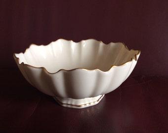 Lenox Symphony Ivory Sculpted Bowl