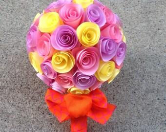 Paper Flowers Bouquet - Wedding bouquet