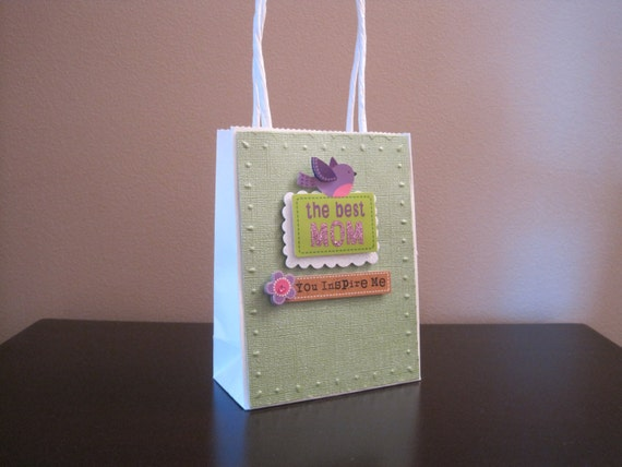 Mothers day gift bag small perfect by