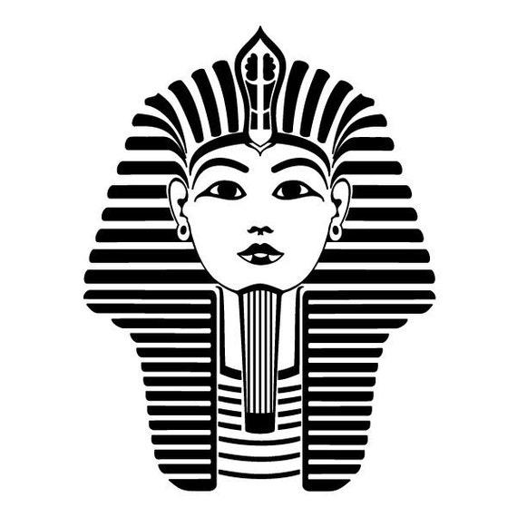 Pharaoh Tattoo Sticker By Sergey