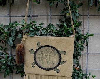 Taos NM Turtle Medicine Bag Pouch