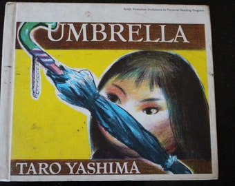 "1958 First Edition Hardcover of ""Umbrella"" by Taro Yashima"