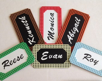 Personalized Name Magnets