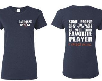 Lacrosse Mom Shirt Lacrosse Shirt Lacrosse Coach Gift Girls lacrosse Lacrosse Gifts Personalized Lacrosse Team Gift Lacrosse Player Lax GD