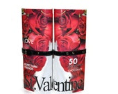 Valentine Love Roses Fashion Magazine Purse Red Unique  Gifts for Her Under 50