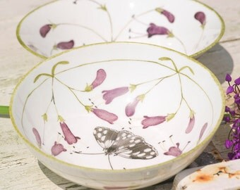 "6"" Fine China Bowls by Holly Lasseter"