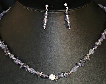 Iolite Necklace # 600