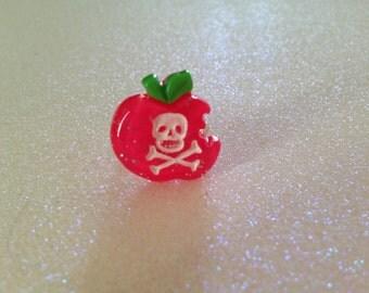 Glitter Poison Apple Ring