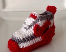 Nike Inspired Crochet Sneakers Tennis Shoes