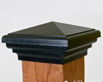 4x4 Post Caps - American Made - 10 Year Guarantee - Fits Pressure Treated 4x4