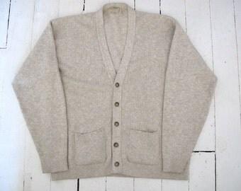 L.L. Bean Cotton Men's Cardigan - Size: Tall