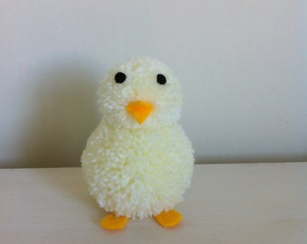 Pompom chick, easter decoration
