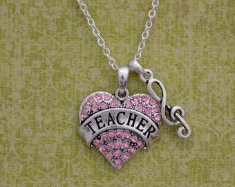 Music Teacher Necklace
