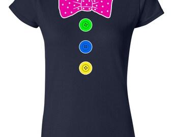 Clown Costume Womans T-Shirt