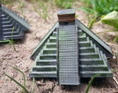 Mayan Temple Models - Chichen Itza - Hand Painted for Crafts, Games, Toys & Dioramas Bitcoin Accepted