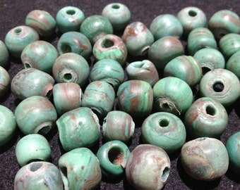 Vintage Indonesian Glass Beads