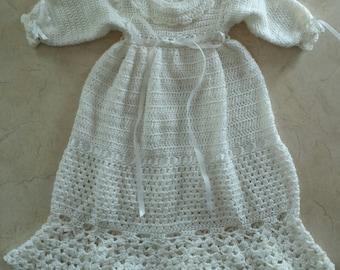 Infant Heirloom Baptism Gown