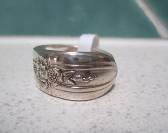 Vintage Spoon Ring - Size 11