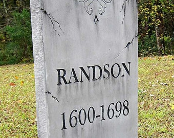 RandsonTombstone Cemetery Prop Graveyard Decoration Vampire Mummy Graveyard Costume Zombie
