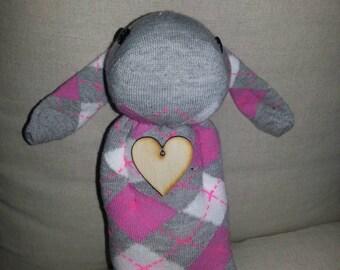 Cute sock bunny