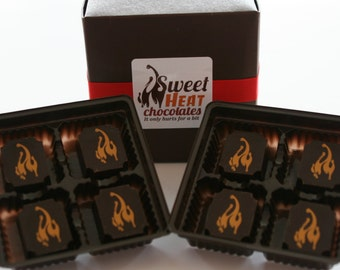 Scorpion Pepper Dark Chocolate 8pc