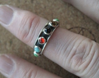 Multicolor Stone Ring -- VT154