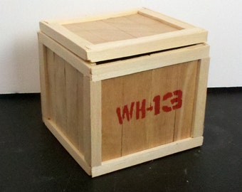 Mini Warehouse 13 Crate