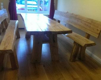 Handmade stunning reclaimed wooden table (aspen lodge look)