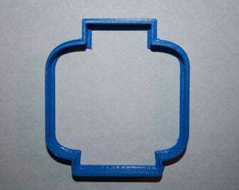 Lego Head Cookie Cutter Lego Cookie Cutter