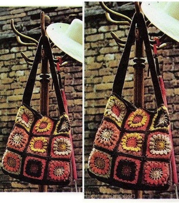 Crochet Shopping Bag Pattern : ... Purse Crochet Handbag Crochet backpack Crochet Grocery Bag Pattern