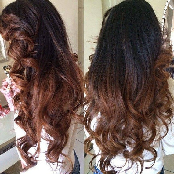 Balayage dip dye 8a remy ombre balayage human invisible hair like this item pmusecretfo Image collections