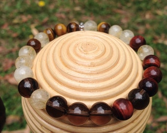 Chakra bracelet , Solar Plexus Chakra Healing Bracelet, australian handmade stone bracelet